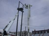 Electric Truck Fixing Power Outage